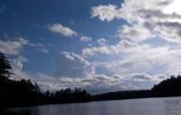 Clouds over Lake Pawtuckaway (Steve Soreff)