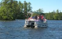 image boat on pawtuckaway