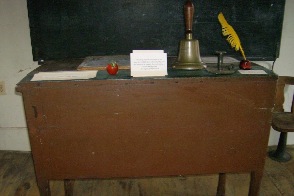 image teacher desk