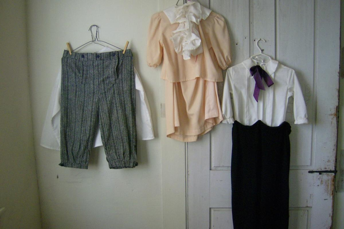 image vintage childrens clothes