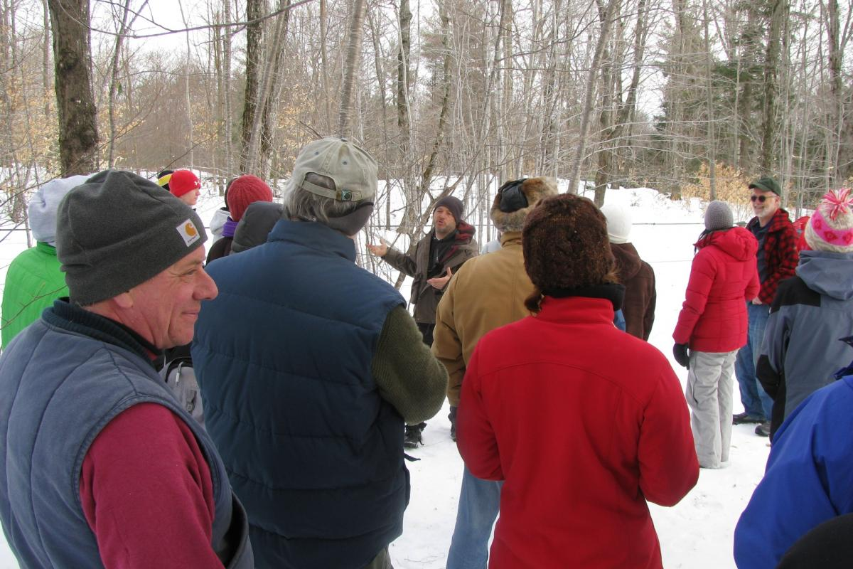 photo of Comte maple sugaring