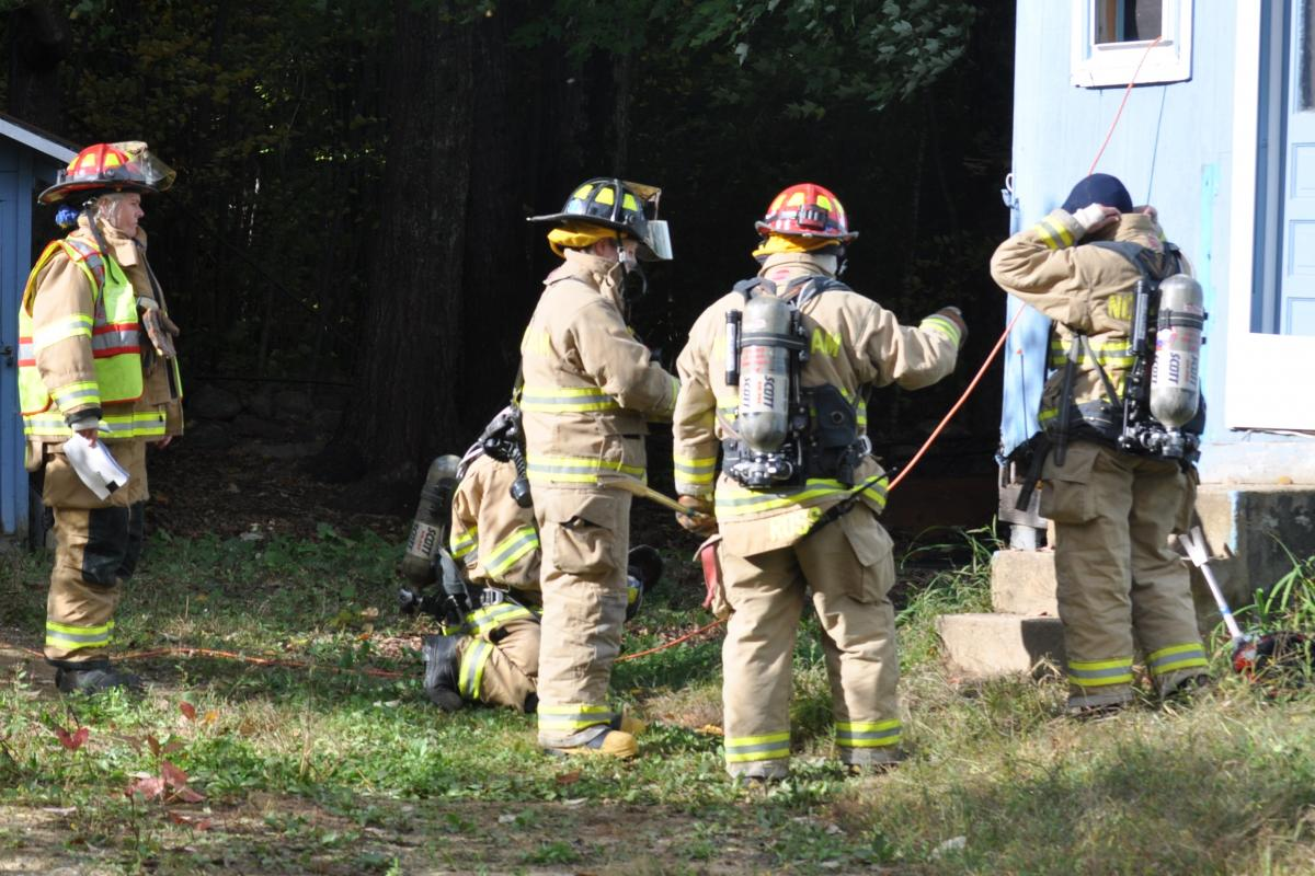 picture fire training