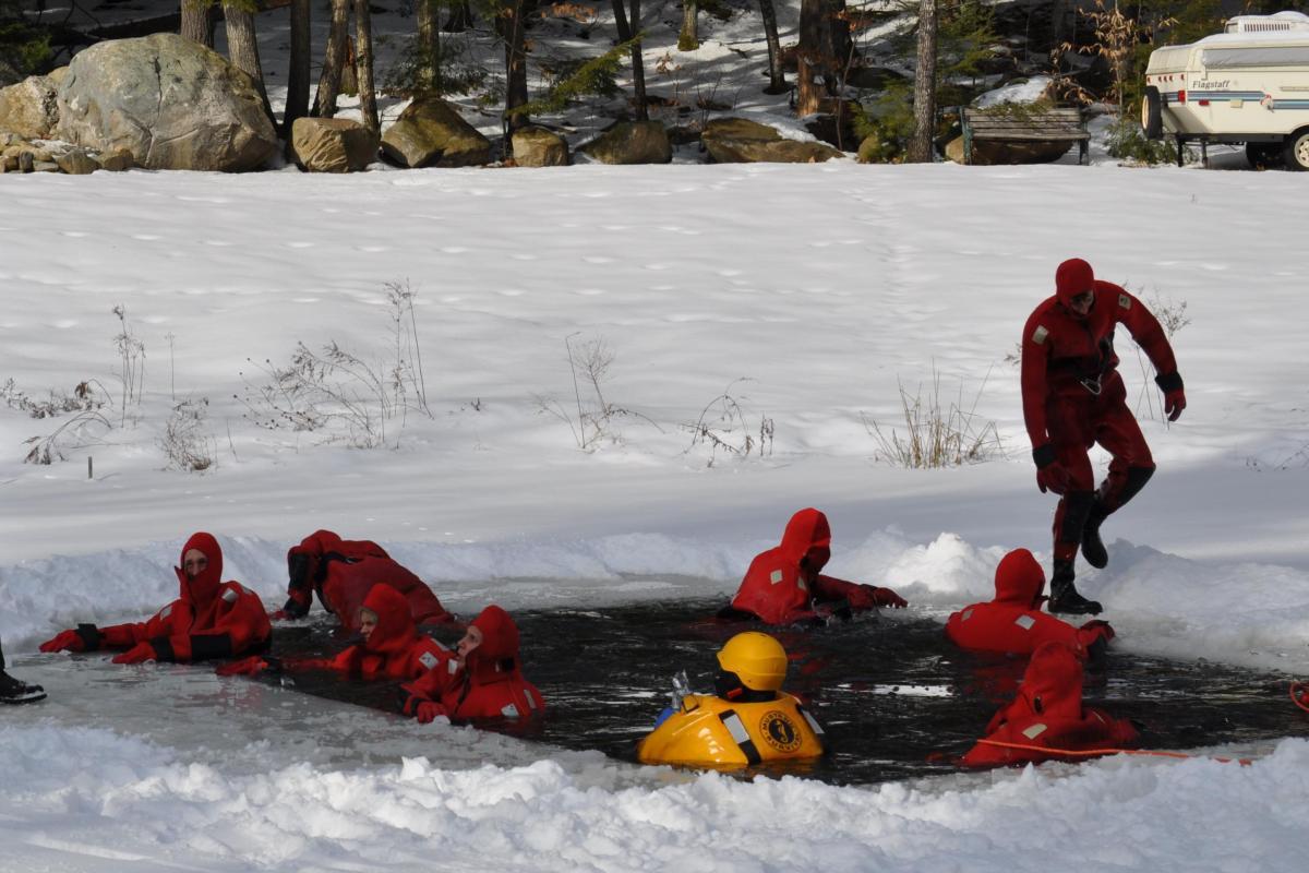 picture ice rescue