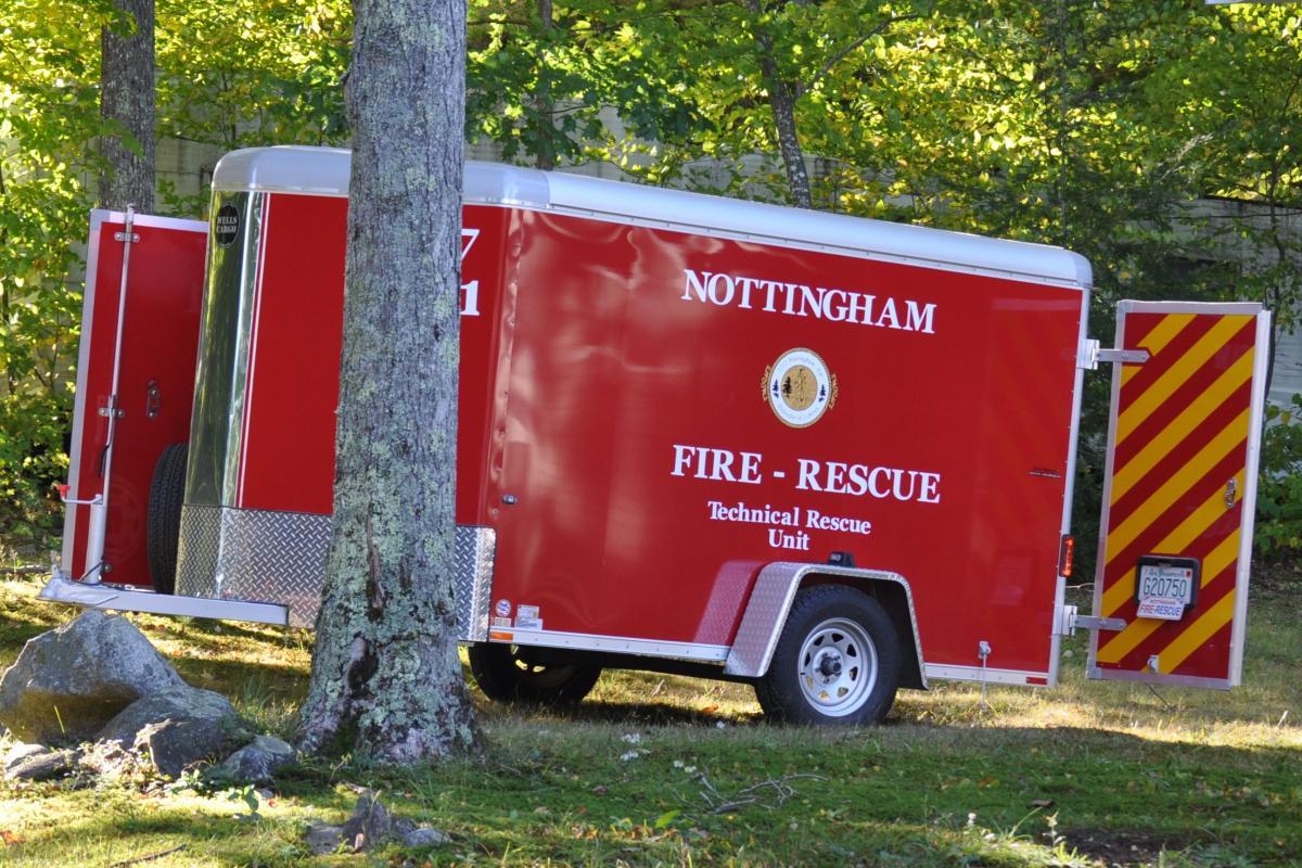 picture Nottingham 37 Tech Rescue Trailer 1