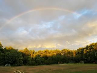 A beautiful rainbow to close our 2020 Summer Concert Series