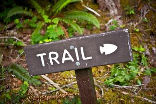 image trail sign